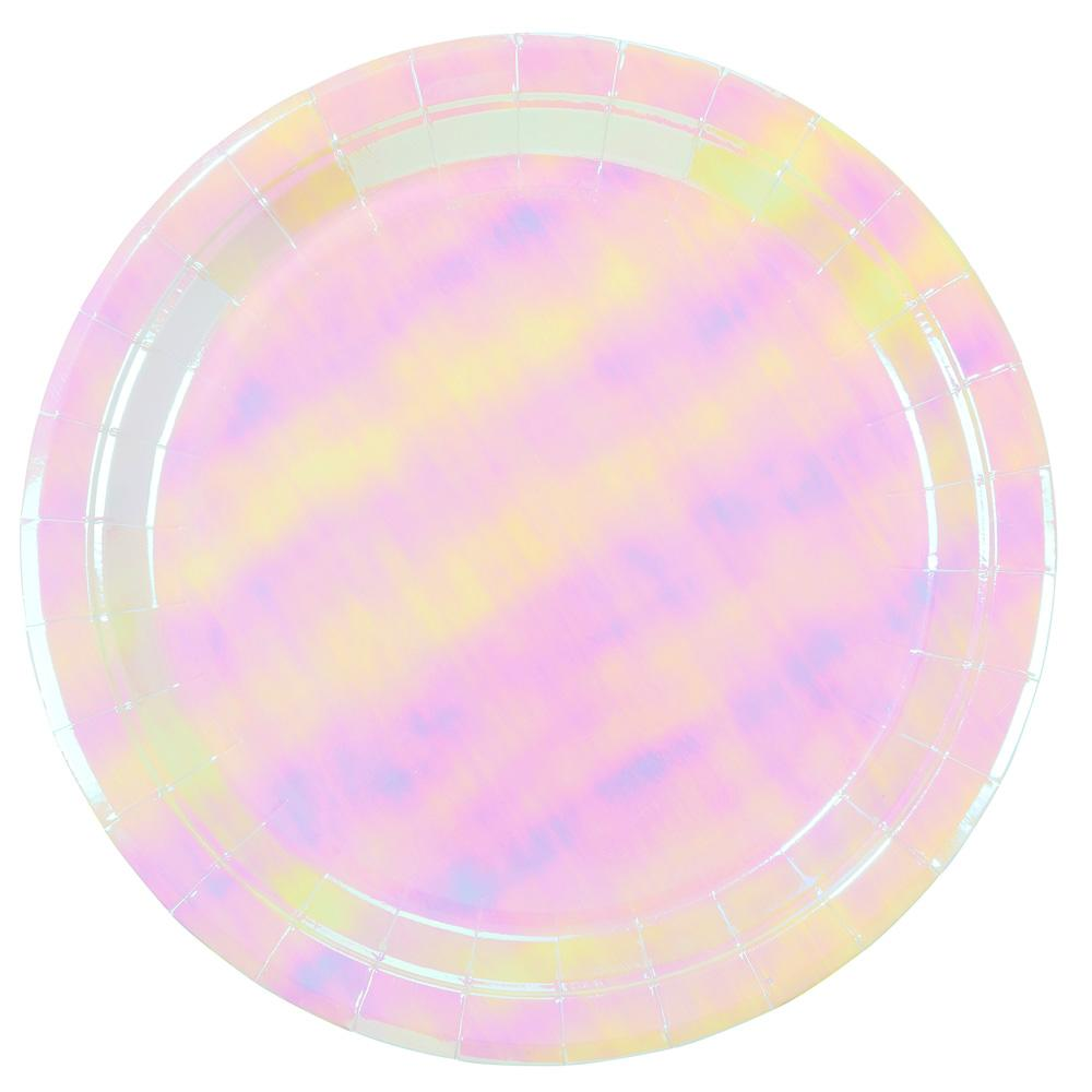 We Heart Pastels Iridescent Plates