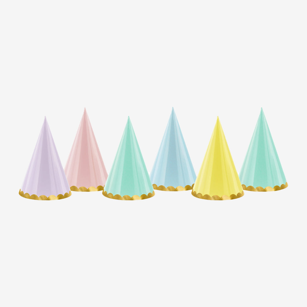 Colorful Party Hats