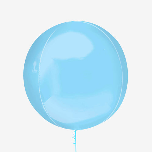 Pastel Blue Orbz Balloon