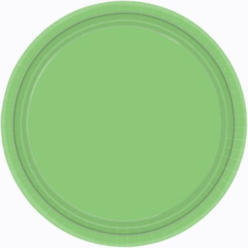 Pastel Green Paper Plates (8 pack)