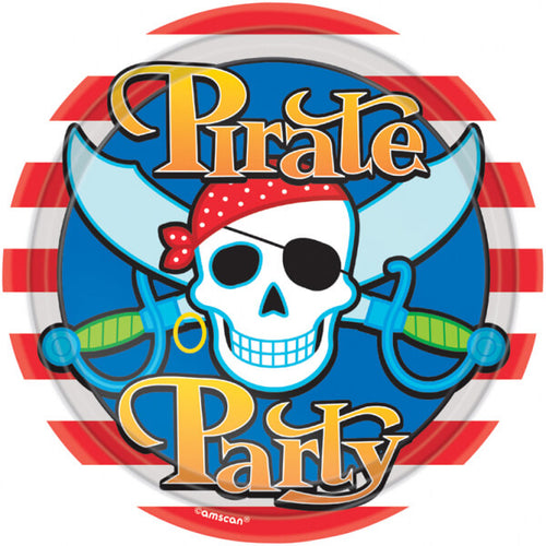 Pirate Paper Plates (8 pack)