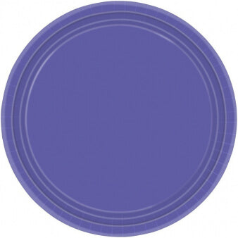 Purple Paper Plates (8 pack)