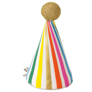 Rainbow Birthday Mini VIP Hat