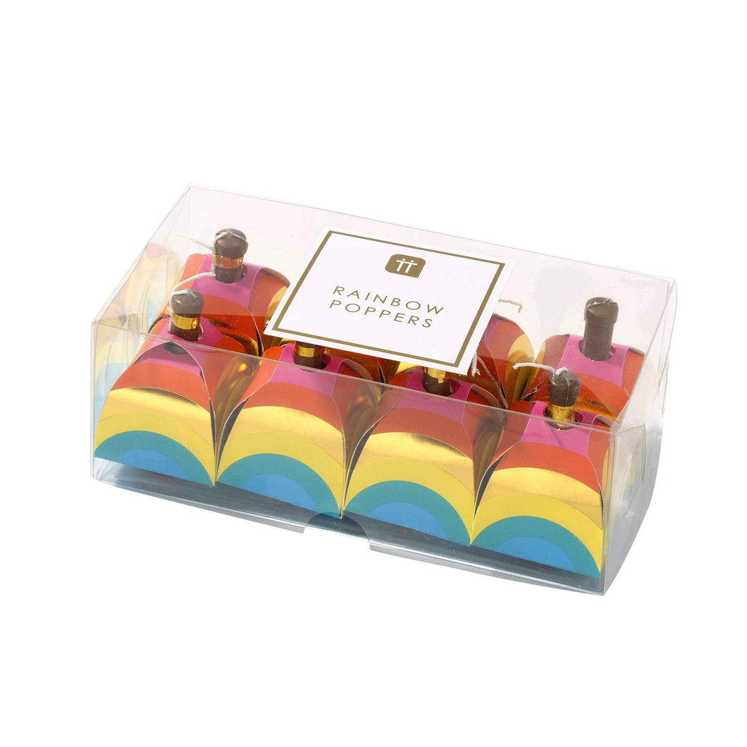 Birthday Brights Rainbow Poppers