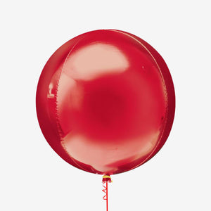 Red Orbz Balloon