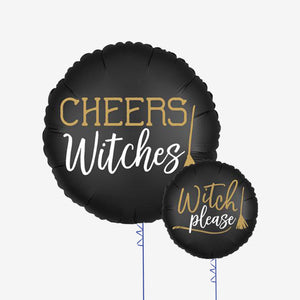 "Halloween ""Cheers Witches"" 18"" Foil Balloon"
