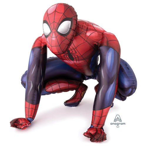 Giant Spiderman Airwalker Foil Balloon