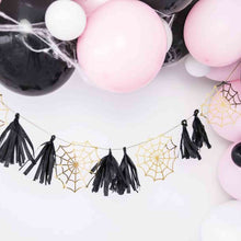 Spiderwebs Paper garland