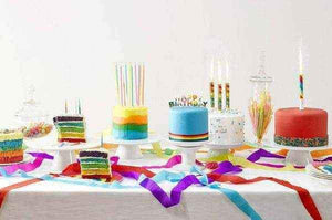 Rainbow Shaped Candles