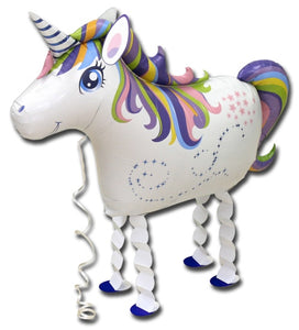 Unicorn-walking-balloon
