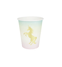 We Heart Unicorns Paper Cups
