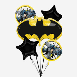 Batman Foil Balloon Bouquet