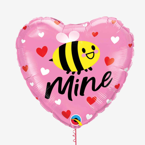 Be Mine Heart Foil Balloon