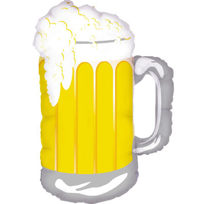Frosty Beer Mug Foil Balloon