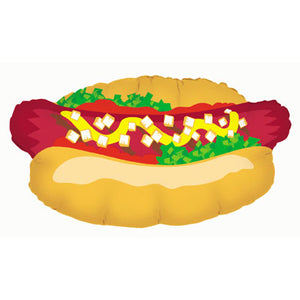 Hot Dog Shape Foil Balloon