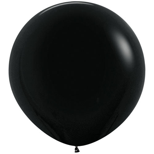black giant 3ft latex balloon