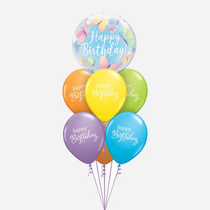 Birthday Butterflies & Best Wishes Balloon Bouquet