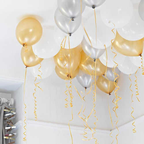 Inflated Ceiling Balloons - Pick your colour