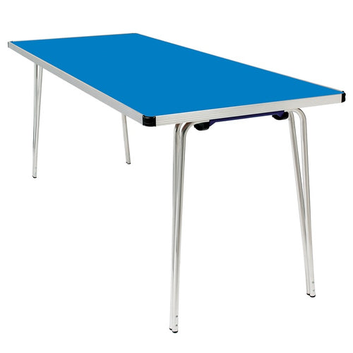Children's Blue Long Table - 6ft