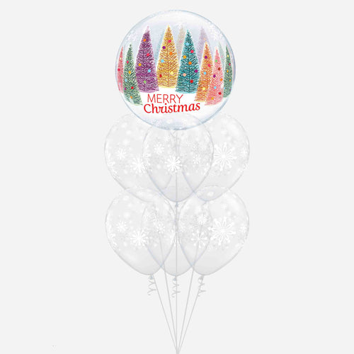 Hope Your Christmas Twinkles Balloon Bouquet