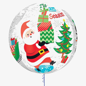 Christmas Orbz Foil Balloon