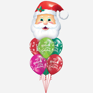 Santa's Balloon Bouquet