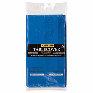Royal Blue Paper Tablecloth