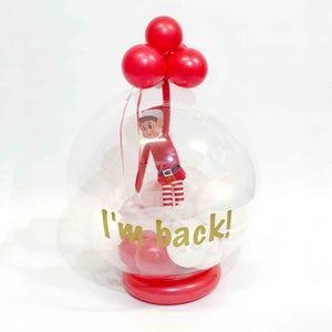 Personalised Elf Balloon Arrival