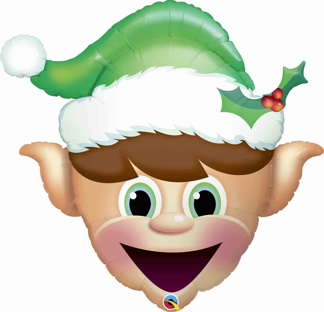 Christmas Elf Foil Balloon