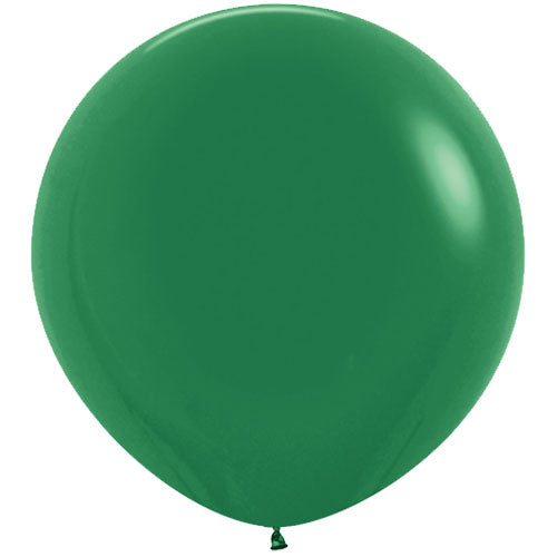 Forest Green Giant 3ft Latex Balloon