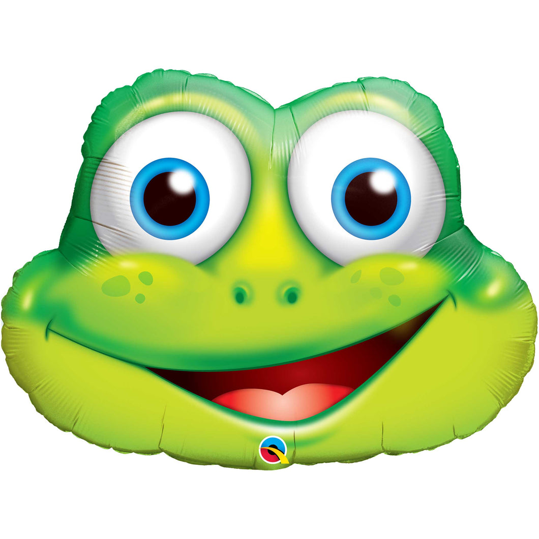Funny Frog Foil Balloon