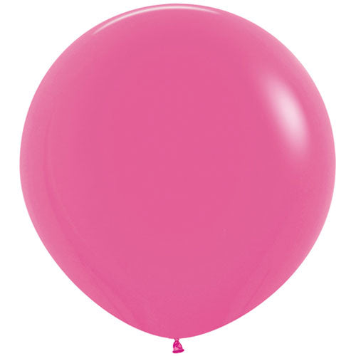 Fuchsia Giant 3ft Latex Balloon