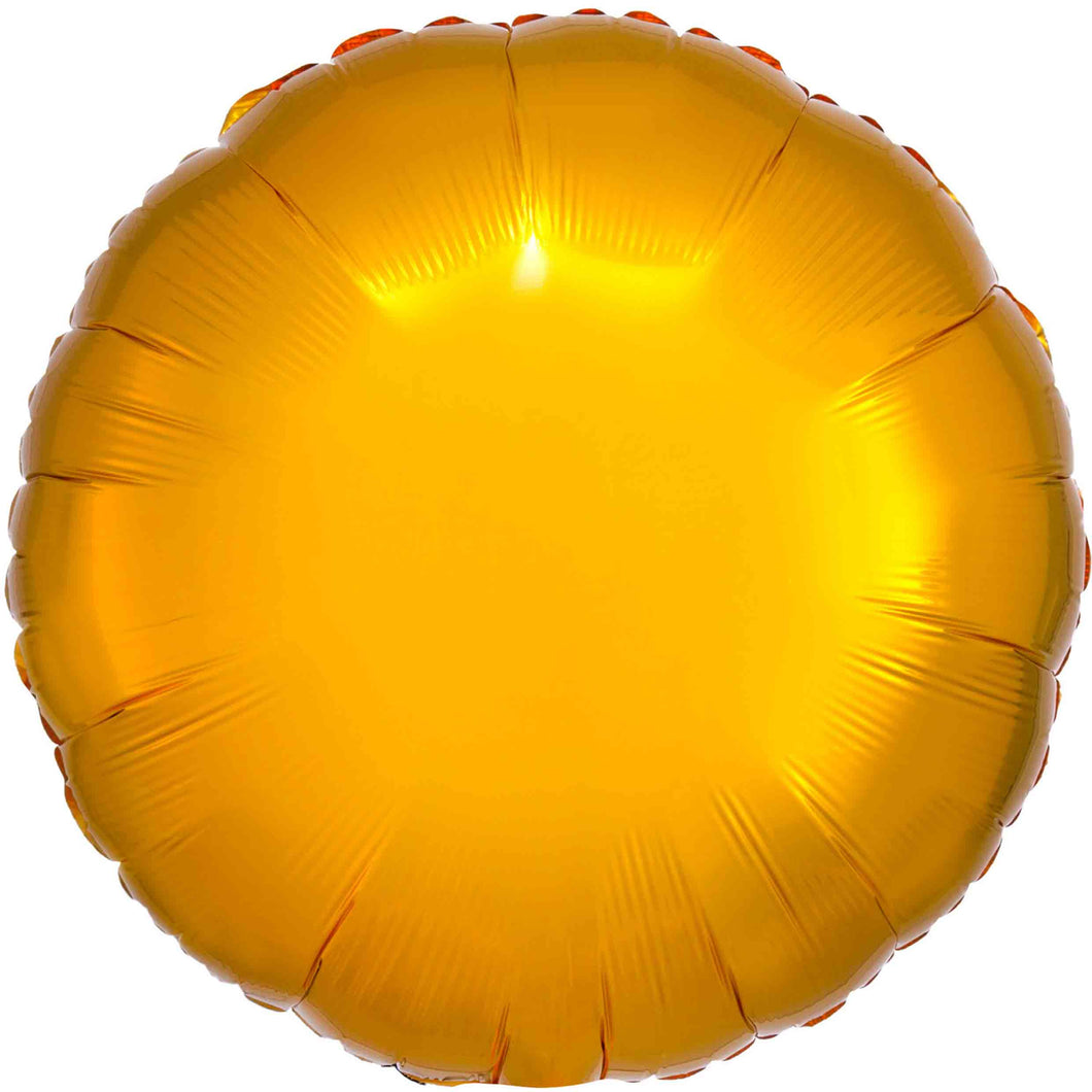Gold Circle Foil Balloon