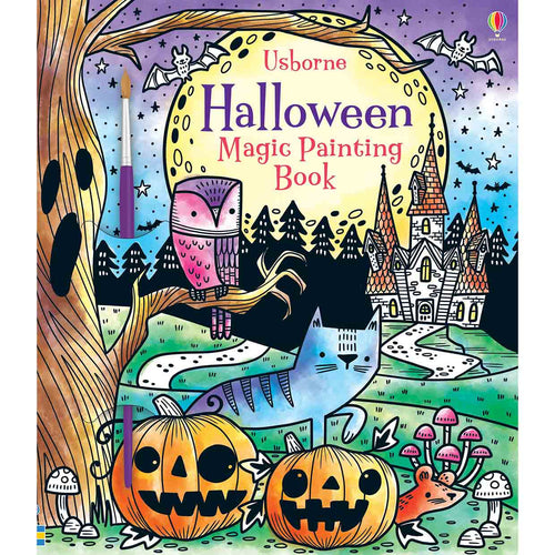 Magic Painting Halloween Book
