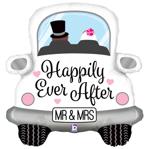 Happily Ever After Car Wedding Balloon