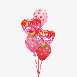 Happy Valentines Balloon Bouquet