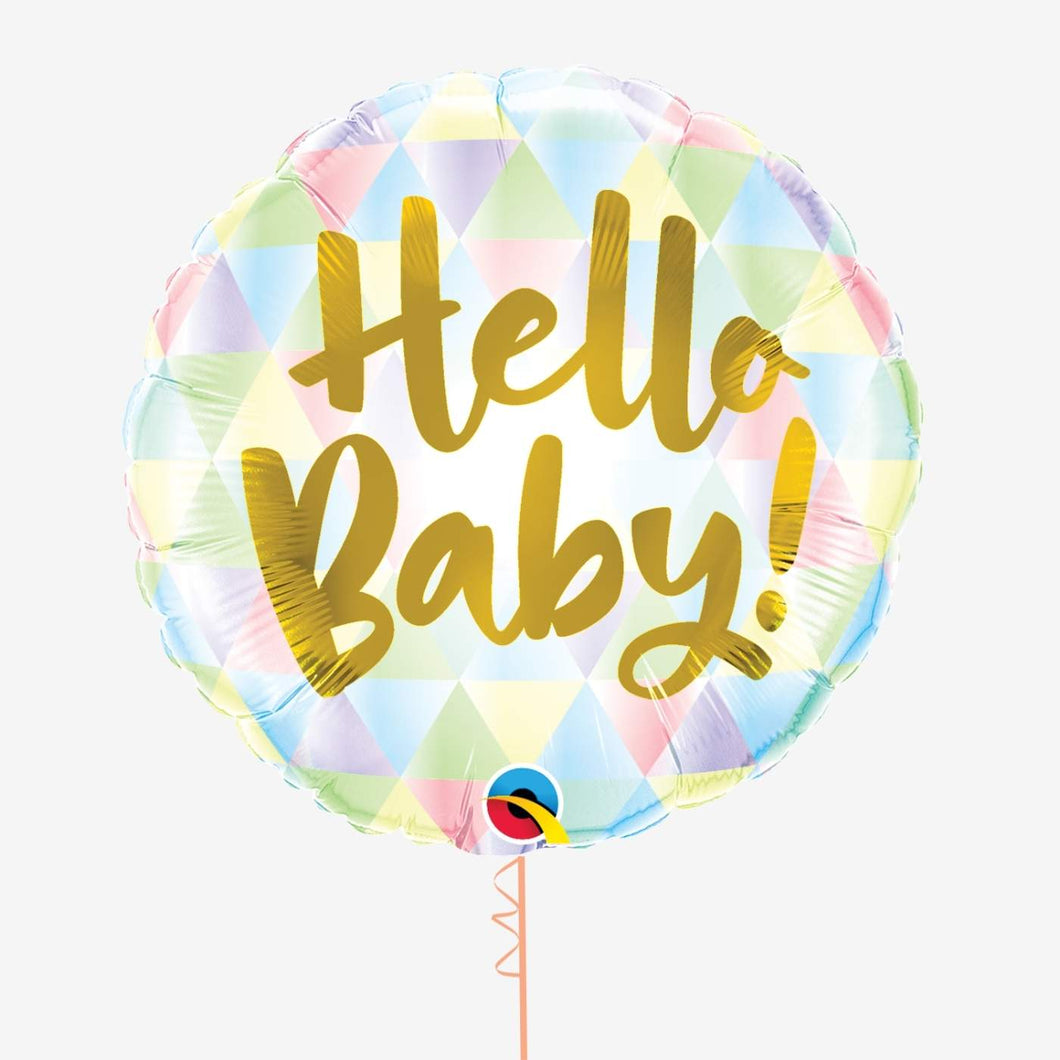 Hello Baby! Foil Balloon