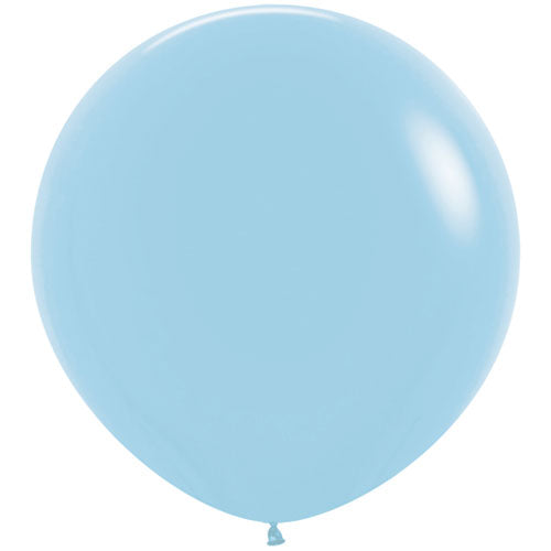 Light pastel blue Giant 3ft Latex Balloon