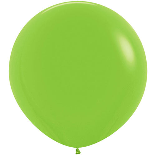 Lime Green Giant 3ft Latex Balloon