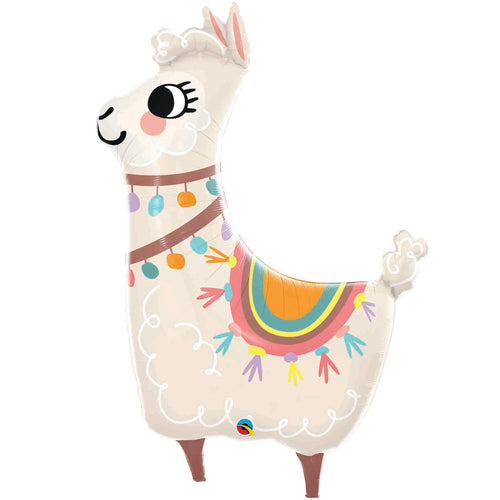 Loveable Llama Foil Balloon