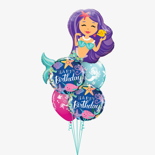 Mermaid Balloon Bouquet