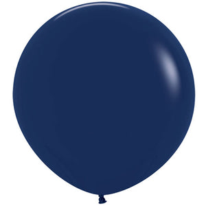 "Navy Blue Giant 36"" latex balloon birthday party"
