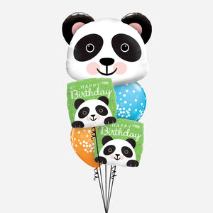 Birthday Panda Balloon Bouquet