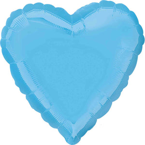 Pastel Blue Heart Foil Balloon