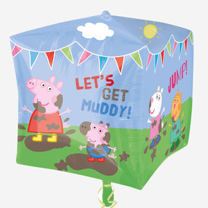 Peppa Pig & Friends Cubez Foil Balloon