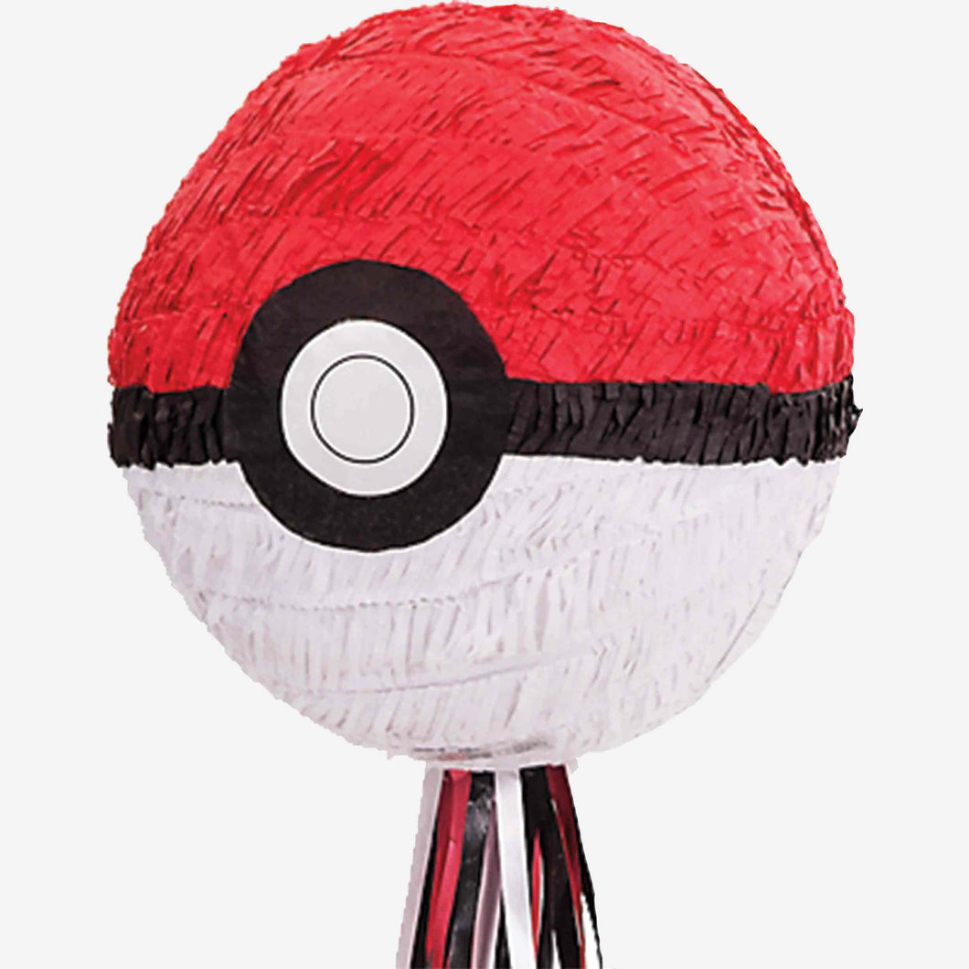Pokemon Pokeball Pull Piñata
