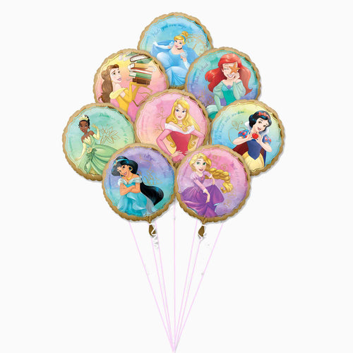 Princess Once Upon a Time Balloon Bouquet