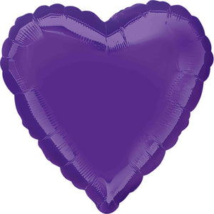 Purple Heart Foil Balloon