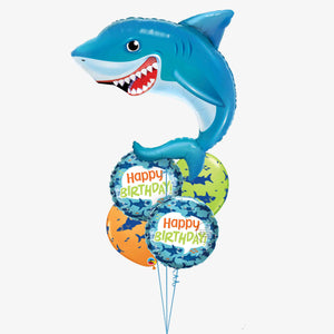 Big Shark Balloon Bouquet