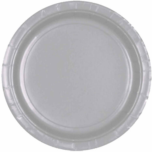 Silver Paper Plates (8 pack)